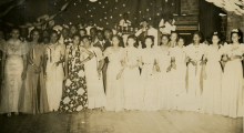 The S. P. U. Girls Ball, circa 1939