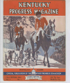 Kentucky Progress Magazine. Fall 1932 cover image