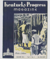 Kentucky Progress Magazine, Summer 1933 cover image