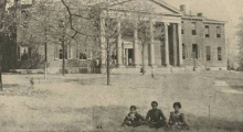 The Kentucky School for the Blind Colored School, ca 1885
