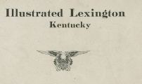 Illustrated Lexington Kentucky Front Cover