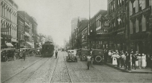 View of Main St. Lexington, circa 1900