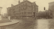 The Morton School on Short and Walnut, circa 1930