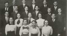 Morton High School Sophmore Class C, 1910