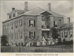 Pinkerton Hall of the Kentucky Female Orphan School, 1866