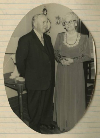 Henry and Etta Evans Gilmore, circa 1955