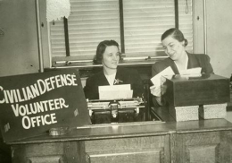 Civilian Defense Volunteer Office Junior League Volunteers, circa 1941-42