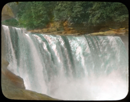 Cumberland Falls, part of the Elmer L. Foote Collection