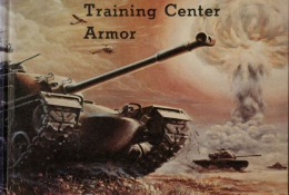 United States Army Training Center Armor Yearbook Cover